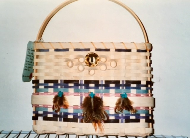 Wall Basket with Native American Design Class