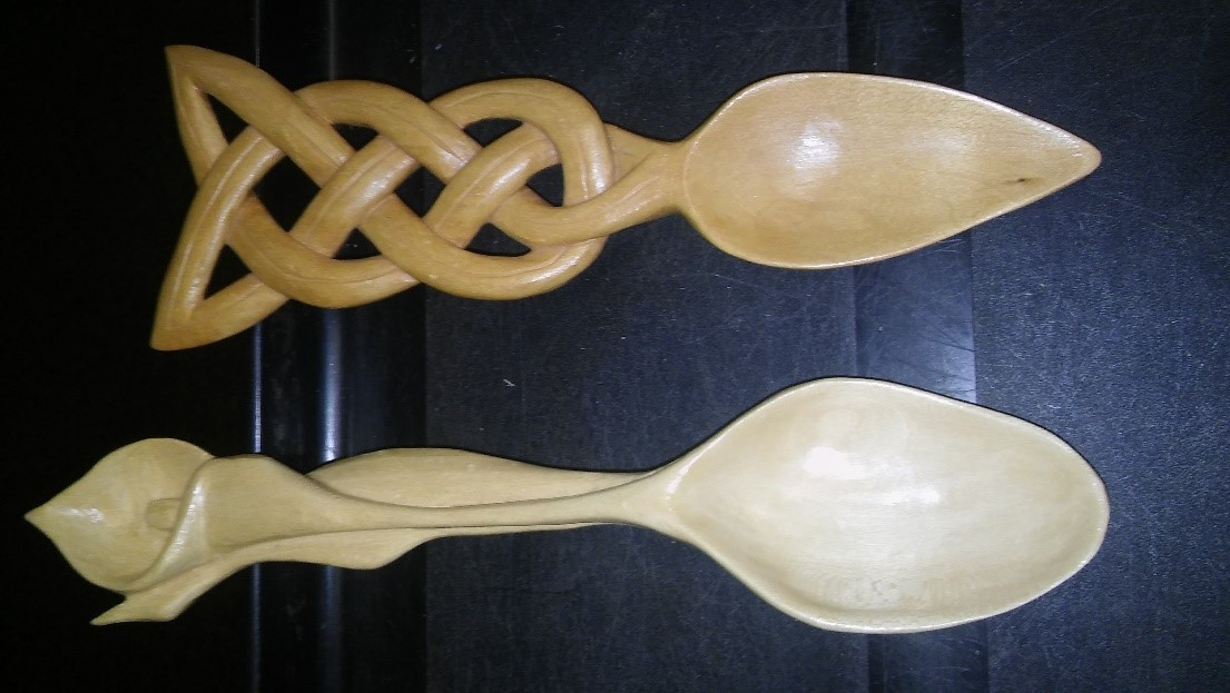 Ornate Spoon Carving Class